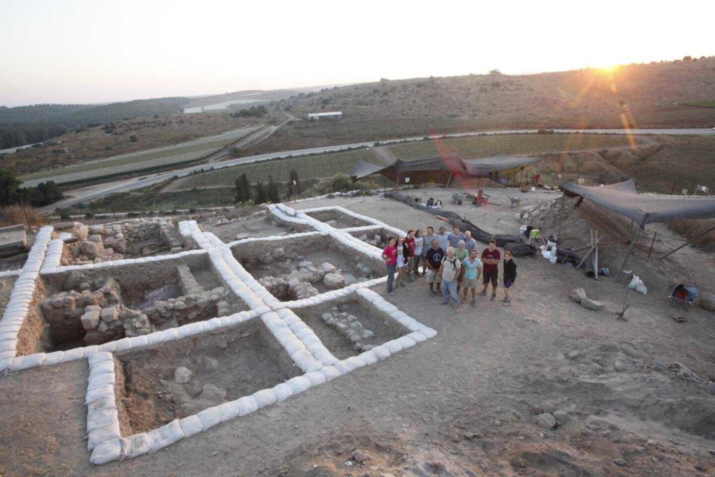 Tel Lachish Canaanite temple