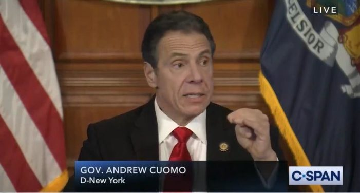 NY Gov. Cuomo on Coronavirus Stats: 'We Brought The Number Down. God Did Not Do That.'