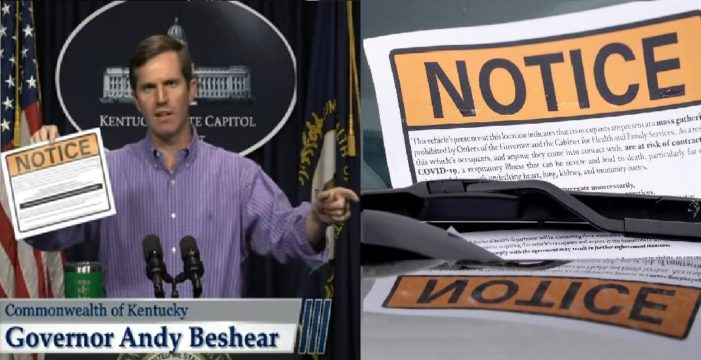 Appeals Court Unanimously Rules Ky. Gov. Andy Beshear Must Allow Drive-In Church Services