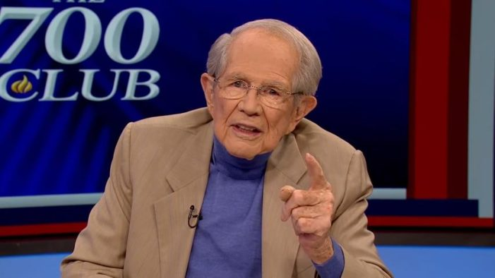 Pat Robertson Again Asserts: 'No Way' Earth Is 6,000 Years Old