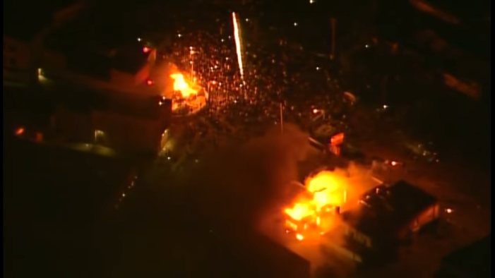 Rioters Overtake Minneapolis Police Department's 3rd Precinct and Set It Ablaze, Police Evacuated