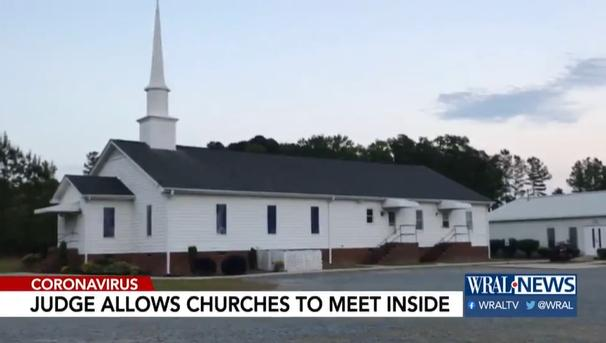 Judge Rules in Favor of NC Churches Seeking to Hold Indoor Services: 'There Is No Pandemic Exception to Constitution'