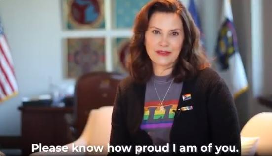 Mich. Gov. Gretchen Whitmer Declares June 'Pride Month,' Urges Residents to 'Promote Self-Affirmation'