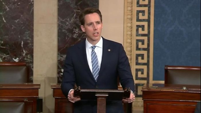 Mo. Sen. Josh Hawley Wants Civil Rights Investigation of State Restrictions on Religious Gatherings