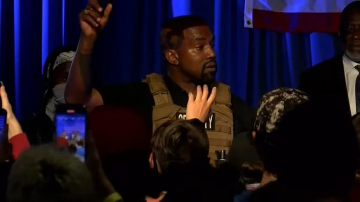Kanye West Unleashes Profanity-Laced Speech, Quotes God Speaking in Expletives to Stop Him From Aborting Daughter