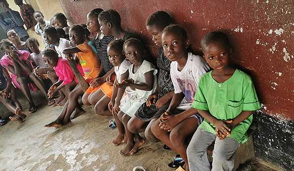Orphans, Blind in Liberia Receive Material Aid and the Gospel of Jesus Christ