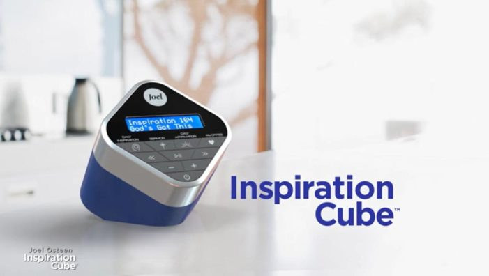 Joel Osteen 'Inspiration Cube' Releasing in Stores This Month: 'It's All Positive. It's Not Negative'