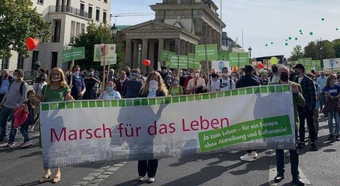 3,000 March for Life in Germany
