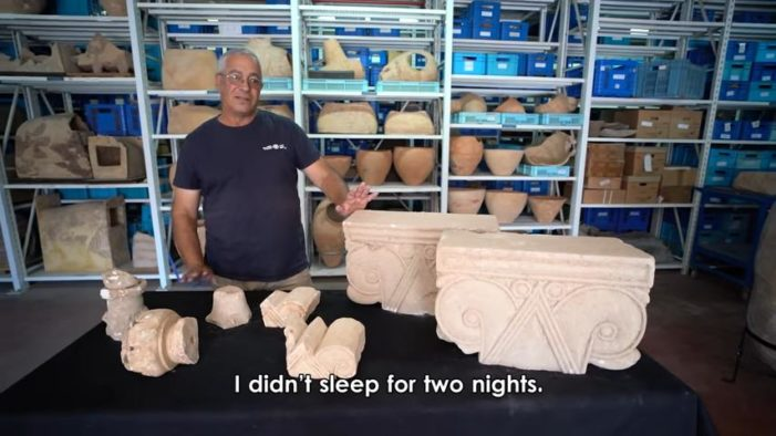 Stone Capitals From a 'Royal Estate' During First Temple Period Unearthed in Israel