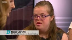 Woman With Down Syndrome Challenges UK Abortion Law: 'It Makes Me Feel Like I Shouldn't Exist'