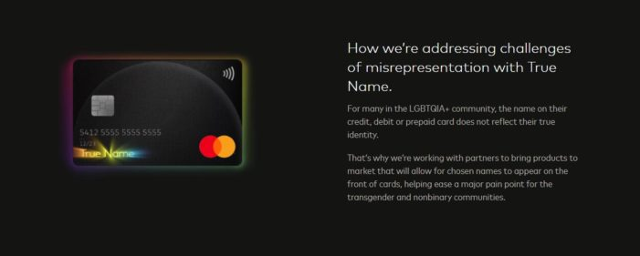 Mastercard 'True Name' Feature Allows 'Transgenders' to Use Their Chosen Name on Debit, Credit Cards