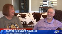'Nothing Short of God Himself': Pastor Credits the Lord for Saving His Life in Battle With COVID-19