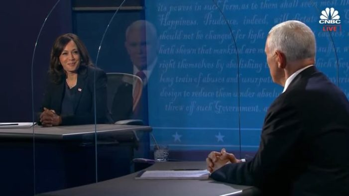 Both Pence and Harris Dodge VP Debate Question on What They Want Their State to Do if Roe Overturned