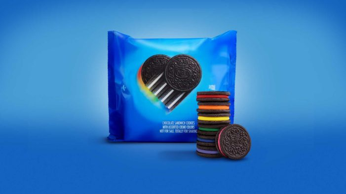 Oreo Giving Away Rainbow-Themed Cookies in Partnership With Homosexual Advocacy Group