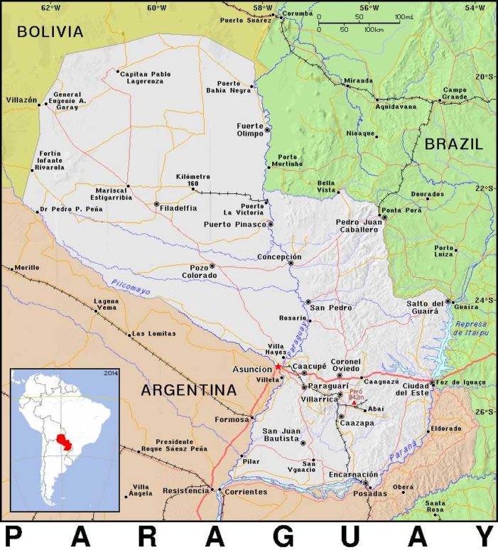 Youth in Paraguay Saved From Broad Path Through Work of Christian Missionaries