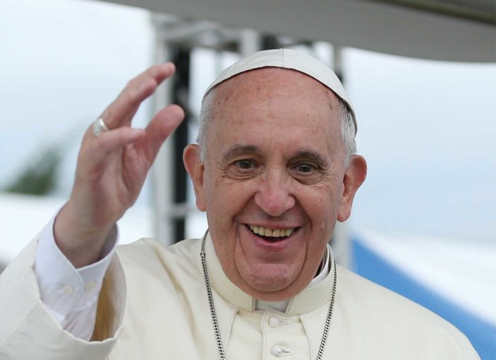 Homosexuals 'Have a Right to a Family': 'Francis' Becomes First 'Pope' to Support Same-Sex Civil Unions