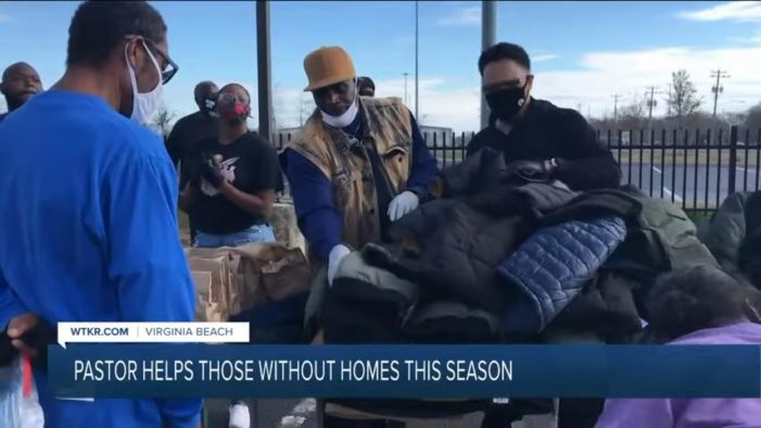 Va. Pastor, Once Homeless Himself, Looks to Help Others With Food, Clothes
