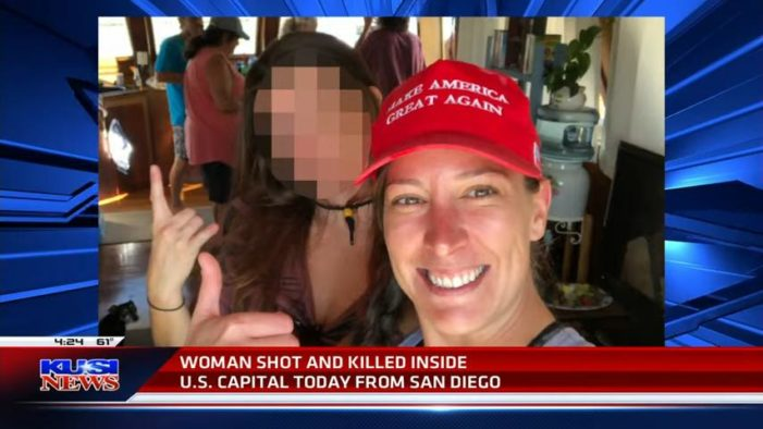 Woman Shot, Killed Storming Capitol Identified as a 'Strong Supporter of Trump' and Military Vet by Husband