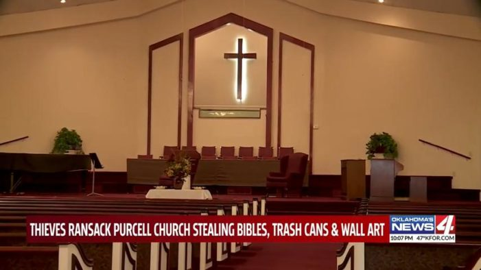 Oklahoma Church Ransacked Just Days After Pastor Dies Due to COVID-19