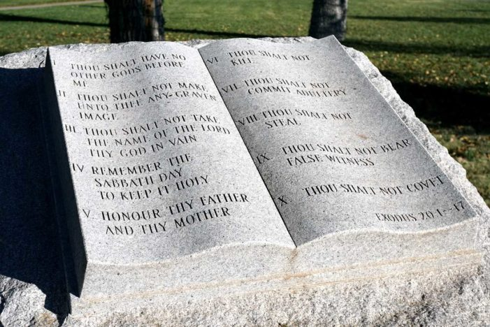 NC Board Considering Placing Ten Commandments Displays Near Entrance of Schools Within District
