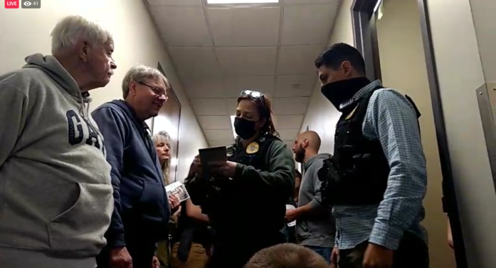 Live Feed: Christians Wait To Be Arrested While Singing Hymns and 'Rescuing' in Front of Abortion Facility Doors
