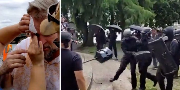 Antifa Targets and Assaults Families and Children at Religious Gathering in Portland Park