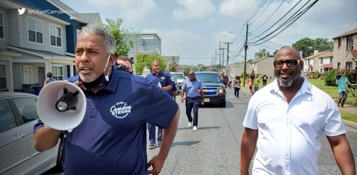 Mayor of Camden, NJ Holds 'COVID-19 Vaccine Parade' Complete With Marching Band and Shots