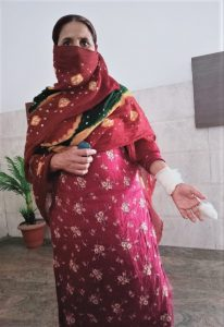 Munesh Devi and her daughters were attacked in Ludhiana District, Punjab state, India. (Morning Star News)