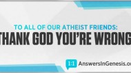 'Thank God You're Wrong': Biblical Creation Group Launches Billboard Campaign to Reach Atheists