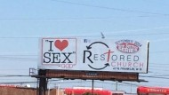 Congregation Attempts to Attract New Attendees With Controversial 'I Love Sex' Billboard
