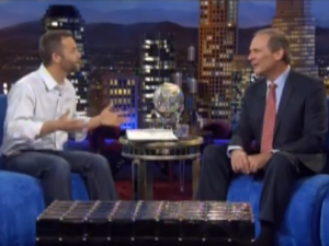 Kirk Cameron, Former Evangelical Pastor Take to TBN to Make Case for Santa Claus