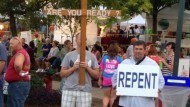 NC Police Claim Christian Carrying Cross Violates 'Dangerous Weapons' Law