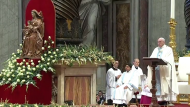 'Pope' Francis, Roman Catholics Worldwide Observe 'Solemnity of Mary the Mother of God'