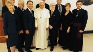 TV Preachers Glowingly Describe Meeting with Pope to Tear Down 'Walls of Division'