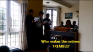 Video Surfaces of Christians Singing 'Who Makes Nations Tremble?' at Moment Earthquake Rocked Nepal