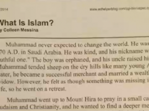 'There Is No God But Allah': Father Pulls Son From School Over Pro-Islam Textbook