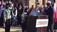 'I Proclaim Jesus Christ Over Texas': Woman Takes Over Podium During Muslim Capitol Day